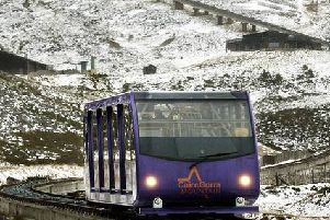 The Cairn Gorm mountain railway operator has gone into administration. Picture: David Cheskin/PA