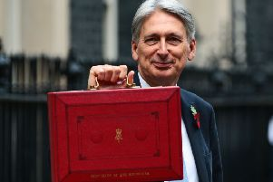 Chancellor Philip Hammond.  Pic: Jack Taylor/Getty Images