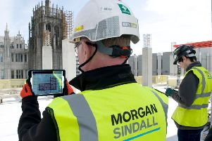 Business is booming at Morgan Sindall Construction Scotland.