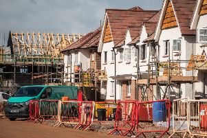 About 90 per cent of the timber used in construction in Britain is imported from the EU. Photograph: Getty Images