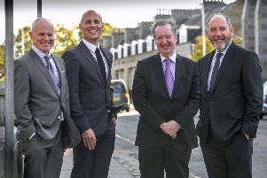 Maxwell Drummond's board of directors (left to right): Phil Smith, Craig Finnie, Andrew MacDonald and Andrew Burton. Picture: Contributed