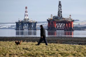 After the end of their working life, oil rigs can be repurposed as artificial reefs (Picture: Andrew Milligan/PA Wire)