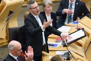 Finance Secretary Derek Mackay delivered this year's Scottish budget. Picture: PA