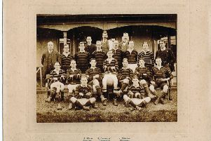 The Melrose team from 1913-14