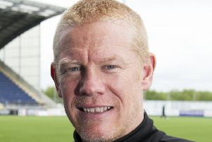 Livingston Manager Gary Holt is keen to keep supporters entertained. Pic: SNS