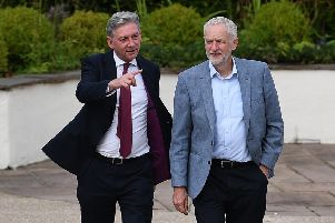 Neither Richard Leonard nor Jeremy Corbyn want to stand in the way of Brexit. Picture: Jeff J Mitchell/Getty