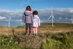Control over planning ensured two-thirds of Scotland's energy needs were met from renewable source in 2017. Picture: John Devlin