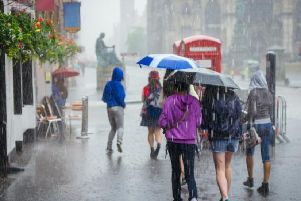 Homes and business could be hit by flooding in parts of Scotland as heavy rain is set to hit the country. (Photo: Shutterstock)
