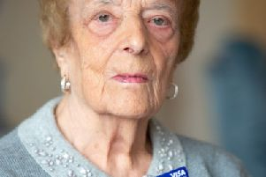 Bank woman silvia de Luca - 97 year old