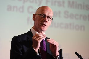 Education Secretary John Swinney. Picture: John Devlin