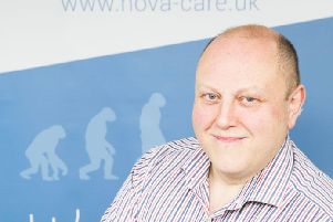 Stephen Wilson, chief executive of Novacare. Picture: Contributed