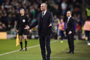 Northern Ireland manager Michael O'Neill. Pic: Charles McQuillan/Getty Images