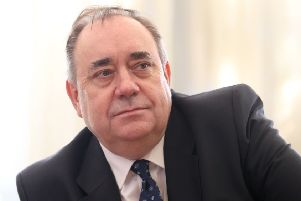 Former First Minister of Scotland Alex Salmond. Picture:: Jane Barlow/PA Wire