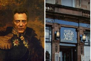 Staff at the Hermitage Bar in Morningside have appealed for the painting to be returned. Picture: Hermitage Bar/Google