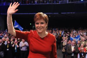Nicola Sturgeon must move on second independence referendum before the moment passes, writes Lesley. Picture: John Devlin
