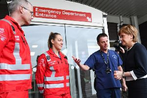 The Dundee unit is the second of four of Scotlands new major trauma centres that will deal with the worst injuries suffered in Scotland. (Photo by Jeff J Mitchell - Pool / Getty Images)