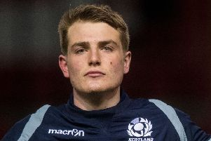 Glasgow centre 'Stafford McDowell captained Scotland U20s. Picture: Ross Parker/SNS