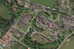The attack took place at Ailsa Hospital. Picture: Google