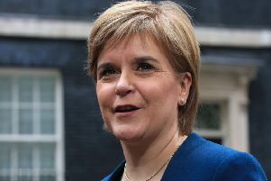 First Minister of Scotland Nicola Sturgeon. Picture: Jonathan Brady/PA Wire