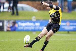 Jason Baggott of Melrose. Picture: Graham Stuart/SNS/SRU