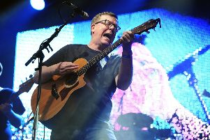 The Proclaimers at Party at the Palace in 2016. Picture: Michael Gillen