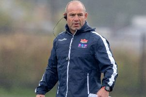 Edinburgh head coach Richard Cockerill was irked by a lack of yellow cards for Dragons players. Picture: Kenny Smith/SNS/SRU