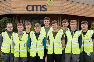 New recruits will be trained onsite, in CMS factories and at the CMS Academy. Picture: Stuart Wallace