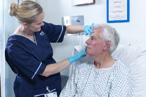 In 2012, the Scottish Government introduced the treatment time guarantee, which gave patients a legal right to treatment within 12 weeks for conditions such as knee and eye operations. Picture: contributed