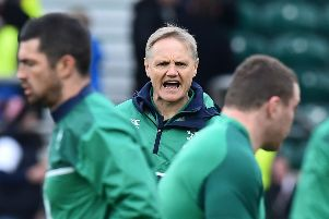 Ireland coach Joe Schmidt led them to three Six Nations triumphs, including a Grand Slam. PIcture: Ben Stansall/AFP/Getty Images