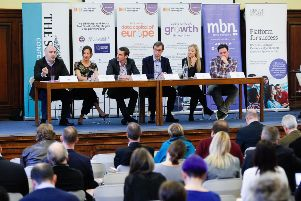 The panel was chaired by Paul Forrest, chairman of MBN Solutions. Picture: TSPL