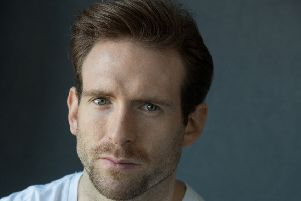 Craig McGinlay, the Scottish actor is one of the new faces in Outlander season four. Picture: Michael Shelford.