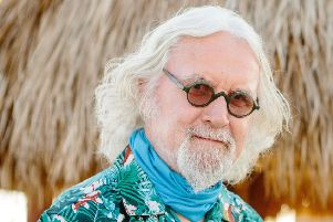 Sir Billy Connolly in Florida for his new ITV series