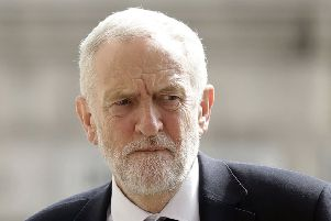 Mr Corbyn said on Saturday that he was prepared to accept Downing Street's preferred option of the BBC, provided it was a straight head-to-head discussion between the two. Picture: PA
