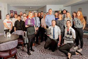 The staff at The Priory Hotel now own 72 per cent of the company. Picture: Malcolm McCurrach