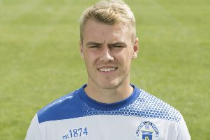 Kyle Thomson has left Morton by mutual consent. Picture: SNS Group