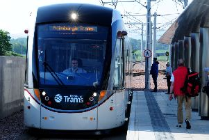The Edinburgh tram extension will run to Newhaven. Picture: TSPL