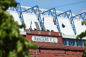 A general view of Ibrox Stadium, home of Rangers. Picture: SNS Group