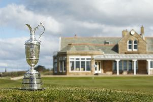 His mother put out a post on social media which was picked up by Open organisers the R&A, who said they would like to bring the Claret Jug round to their home in Dundee. Picture: Danny Lawson/PA Wire.