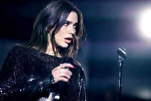Dua Lipa performs onstage in New York City. Picture: Christopher Polk/Getty Images for Mastercard
