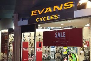 Evans Cycles in Braehead is set to close