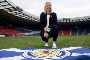 Scotland head coach Shelley Kerr. Picture: Ross Brownlee/SNS