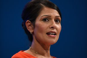 Priti Patel, who resigned as international development secretary last year over her unauthorised meetings with Israeli officials. Picture: 'Oli Scarff/Getty