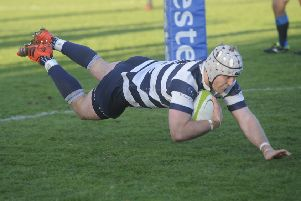 Heriot's Michael Liness. Pic: Greg Macvean/Johnston Press