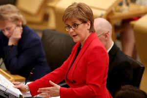 Nicola Sturgeon has said that increasing Scotland's population is vital