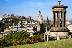 Edinburgh topped the list of 20 UK destinations. Picture: Getty Images