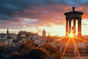 Edinburgh has been named the best city in the world to live