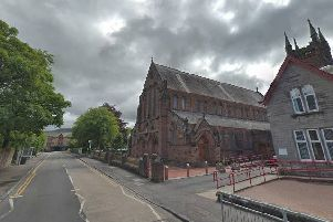 The alleged abuse took place at St Patrick's church in Dumbarton