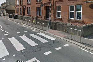 Canal Street in Saltcoats where the alleged rape took place