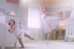 The advert for Aptamil baby formula is a prime example of reinforcing gender cliches