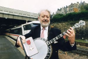 Musician MIKE HART MBE